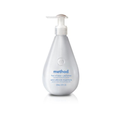 : Method Hand Wash, Free of Dyes + Perfumes, 12-Ounce Bottle (Pack of 6)