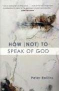 Peter Rollins: How (Not) to Speak of God.
