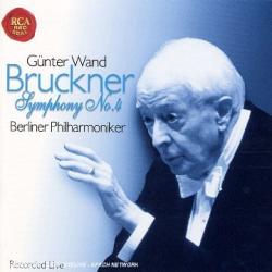 """Bruckner - Symphonie n° 4 en mi bémol majeur, """" Romantique """": Günter Wand - Orchestre Philharmonique de Berlin"""