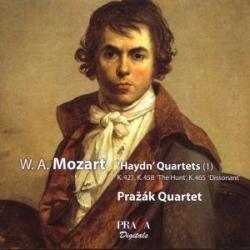 """Mozart - Quatuors A Cordes K421, K458 """"La Chasse"""", K465 """"Les Dissonances"""": Quatuor Pražák"""