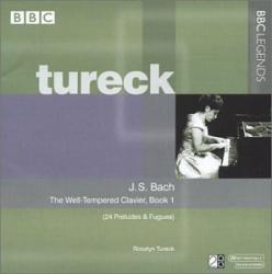 Bach JS - Le Clavier bien tempéré - Livre I: Rosalyn Tureck