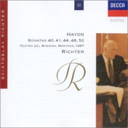 Haydn - Sonates pour piano Nos 40, 44, 48 & 52: Sviatoslav Richter