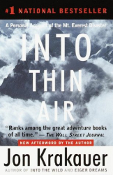 Jon Krakauer: Into Thin Air: A Personal Account of the Mt. Everest Disaster