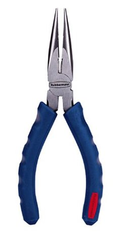 ": Rubbermaid Tough Tools 70316 6"" Long Nose Pliers"