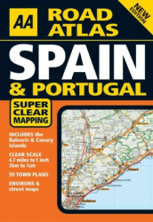 : AA Road Atlas Spain & Portugal (AA Atlases S.)