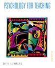 Guy R. Lefrancois: Psychology for Teaching