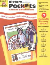 Evan-Moor Educational Publishers: History Pockets: Ancient Civilizations, Grades 1-3