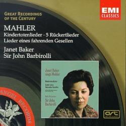Janet Baker/John Barbarolli - Rückert Lieder/Kindertotenlieder