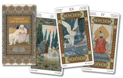 Lo Scarabeo: Tarot of the Thousand and One Nights