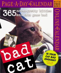Workman Publishing Company: Bad Cat Page-a-Day Calendar