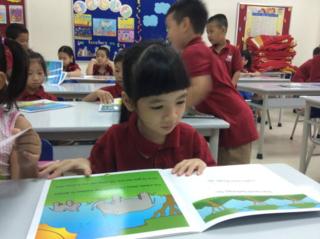 Vietnamese schoolchildren