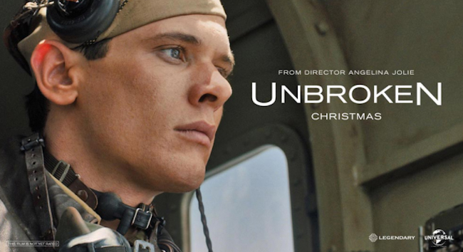 CINEMA SCAPE Unbroken by Angelina Jolie. Starring Jack O'Connell, Out December 25, 2014. www.imageamplified.com, Image Amplified