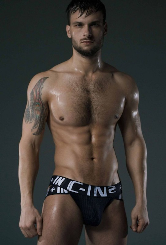 Male Sight Photography of Erasmo Viana & Chuck Strogish Captured by Rick Day for C-IN2 Underwear 2014
