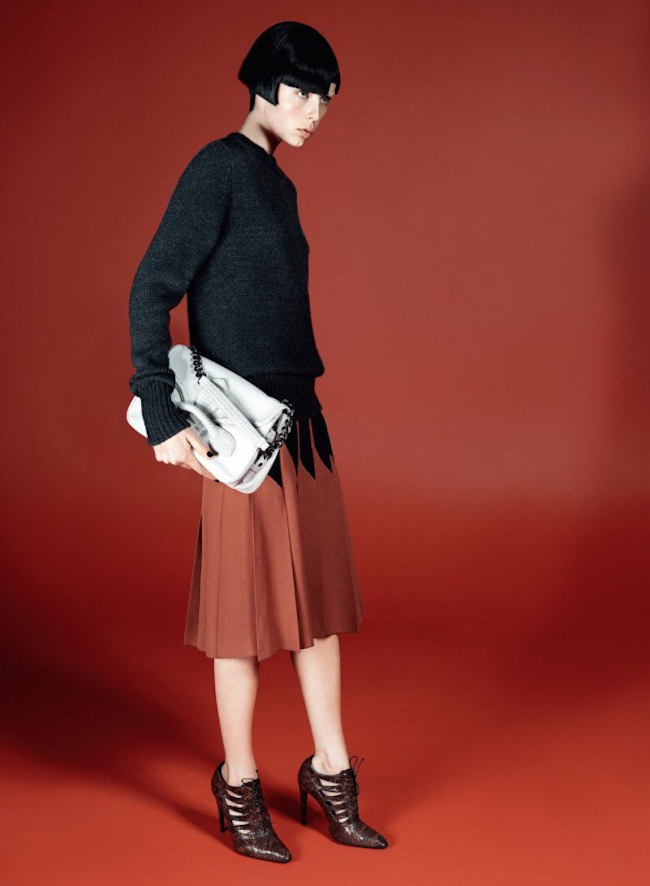 CAMPAIGN Edie Campbell for Bottega Veneta Fall 2014 by David Sims. Katie Grand, www.imageamplified.com, Image Amplified