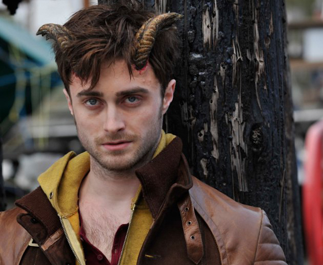 CINEMA SCAPE Horns Directed by Alexandre Aja, Starring Daniel Radcliffe. Out 2014. www.imageamplified.com, Image Amplified