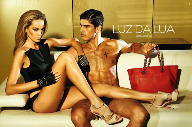 CAMPAIGN Evandro Soldati & Sally Maria for Luz da Lua Summer 2015 by Bruna Castanheira. Rodrigo Polack, www.imageamplified.com, Image Amplified