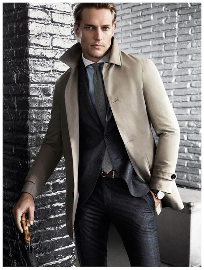 CAMPAIGN David Genat for Massimo Dutti Fall 2014, www.imageamplified.com, Image Amplified