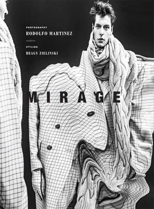 VEOIR MAGAZINE John Hein & Laurie Harding by Radolfo Martinez. Beagy Zielinski, Fall 2014, www.imageamplified.com, Image Amplified