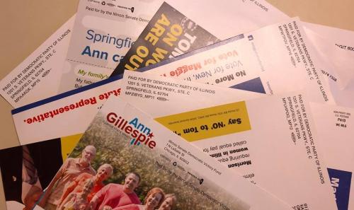 Democrat mailers 2018 my district