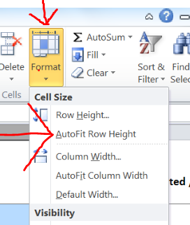Format tool