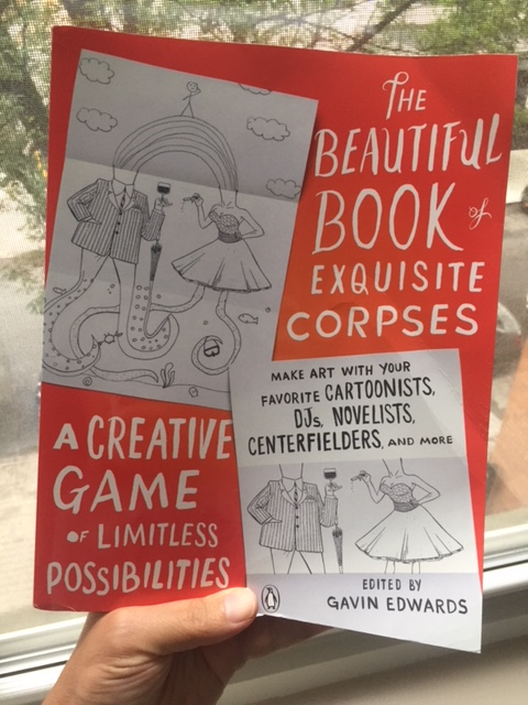 Beautiful book of exquisite corpses