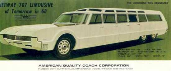 """The limousine of tomorrow--in 1968!"""