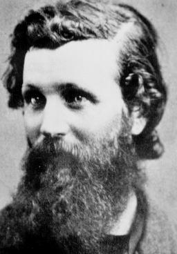 young John Muir and his beard