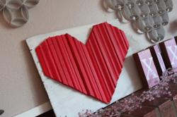 DIY heart molding gift