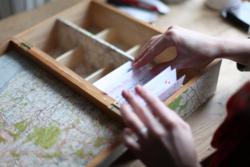 DIY 80 years in a box memory box craft