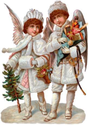 Victorian-christmas-gift-angels