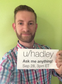 "Hadley Wickham's ""Ask Me Anything"" on Reddit"