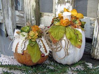 Pumpkins by Lynne Forsythe