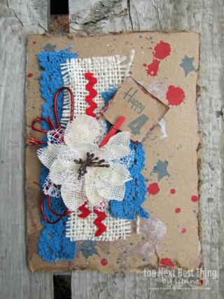 Happy 4th Card by Lynne Forsythe
