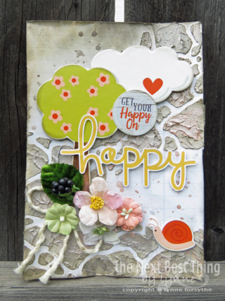 Happy Card by Lynne Forsythe