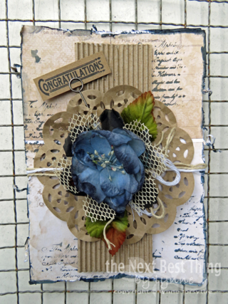 Quick and Easy Card by Lynne Forsythe