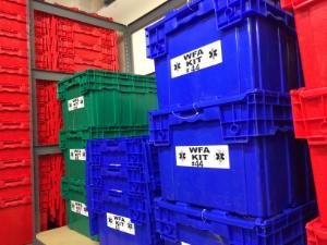 WFA shipping totes