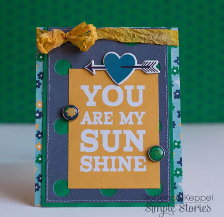 Rk ss you are my sunshine card cu1