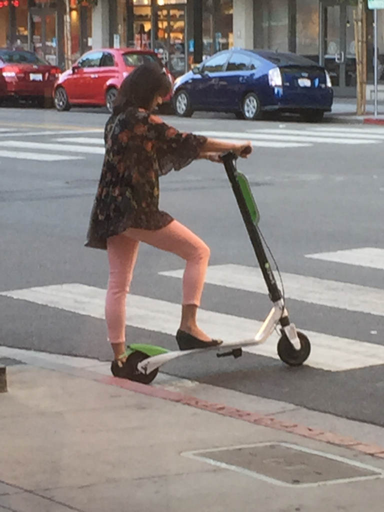 The Burlingame Voice: Scooter Dangers