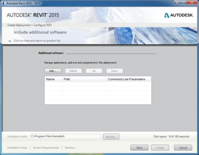 Revit-Include-Additional-Softare