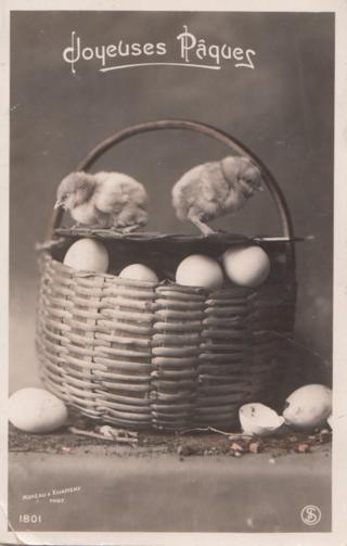 Vintage Easter Postcard