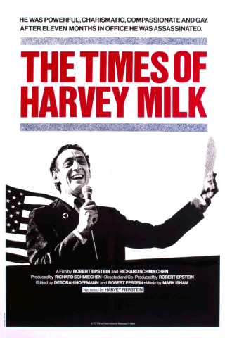 The Times of Harvey Milk DVD documentary