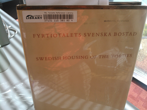 Swedish Housing of the 40s Forties