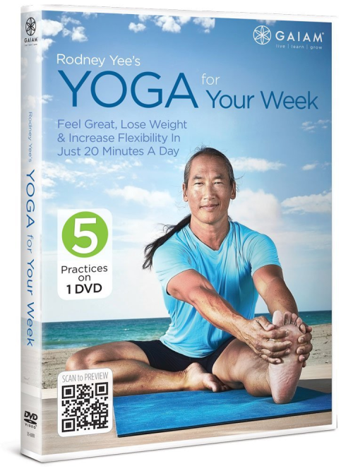 Rodney Yees yoga for your week feel great  lose weight increase flexibility in just 20 minutes a day