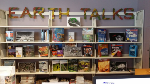 Humberwood Branch Toronto Public Library Our Fragile Planet display 2016