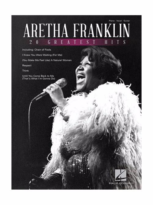 Aretha Franklin Sheet Music 20 Greatest Hits