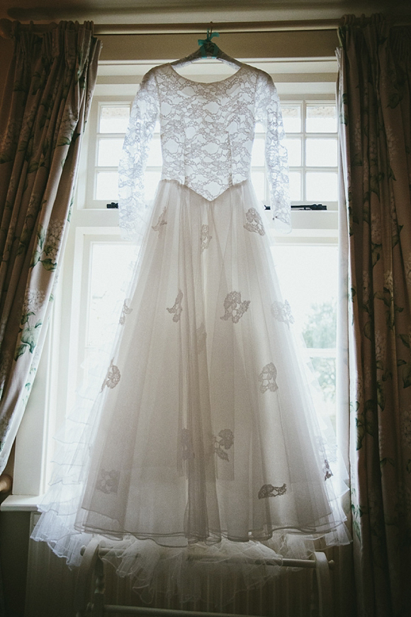 1950s Vintage Wedding Dress Maunsel House Wedding