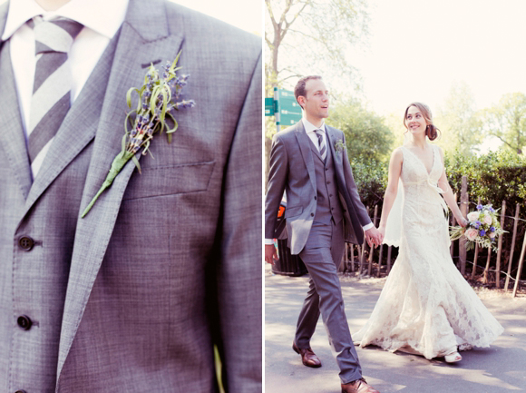 Caroline Castigliano wedding dress, vintage inspired wedding
