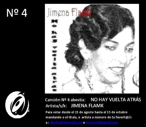 Jimena flamk -No hay vuelta atrás