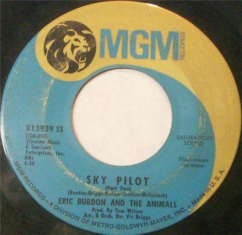 Eric Burdon And The Animals - Sky Pilot