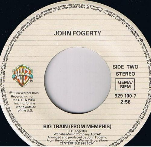 John Fogerty - Big Train (From Memphis)